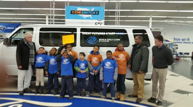 Liberty Ford Solon >> Liberty Ford Donates Second Van To The Boys Girls Clubs Of